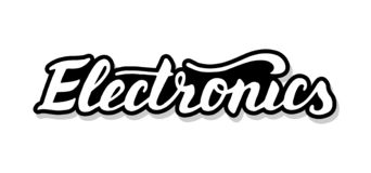 electronics-calligraphy-template-text-your-design-illustration-concept-handwritten-lettering-title-vector-words-white-143427406